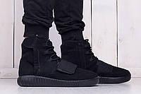 Зимние мужские кроссовки Adidas Yeezy Boost 750 Black (США)