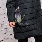 Зимнее женское пальто больших размеров 2017-2018 - (модель кт-245), фото 3