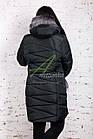 Зимнее женское пальто больших размеров 2017-2018 - (модель кт-245), фото 6