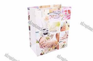 """Подарочный пакет 12x7x14 (набор 12 шт.) """"LP"""" купить оптом подарочный пакет"""