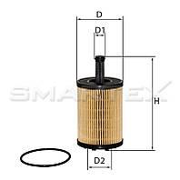 Фильтр масляный SMARTEX   ОЕ18031ЕСО (SCT SH 4771, OE 650/1)