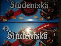 Шоколад Studentska изюм/арахис в темном шоколаде , 180 г