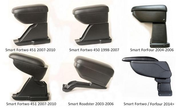 Armcik armrest for Smart