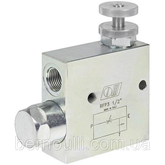 Регулятор потоку оливи RFP3 3/8'' 60л/хв