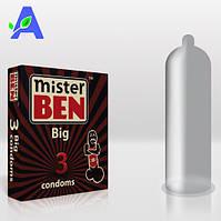 Презервативы большие Mr Ben Big 3 шт в упаковке