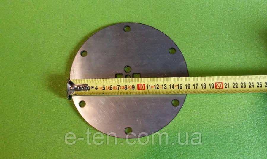Фланец круглый Ø165мм НЕРЖАВЕЙКА (6 отверстий) под МОКРЫЙ ТЭН - (для бойлеров Gorenje с сухими тэнами)