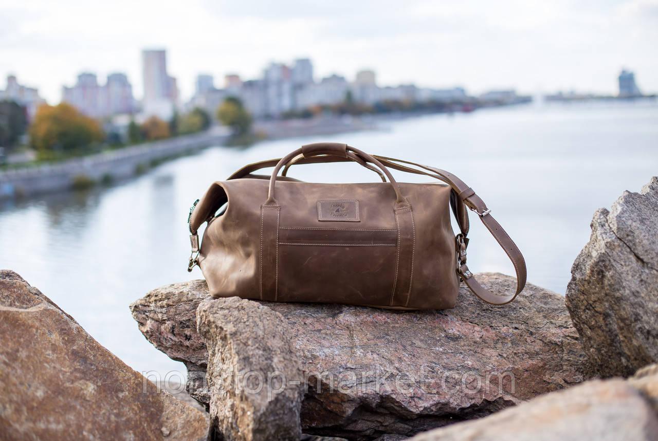 4b5f5a013f6e Мужская кожаная сумка ручной работы Sport&Travel Standart, Sharky Friends -  Nonstop-Market в Днепре