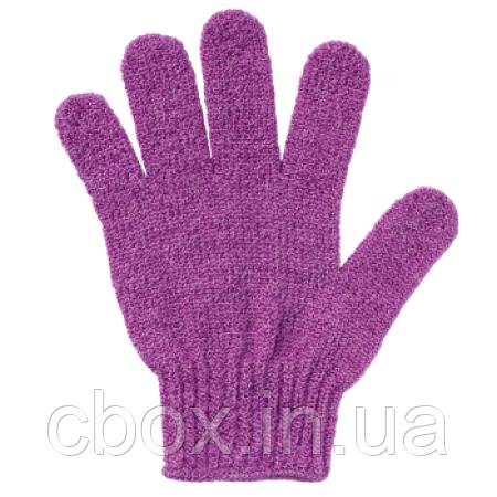 Перчатка для душа фиолетовая, Faberlic, Фаберлик, мочалка, рукавичка, 9639