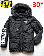 Распродажа! Зимняя мужская куртка Everlast/еверласт/эверласт Оригинал