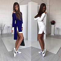 Женское супер стильное платье-трансформер 2 в 1, в расцветках