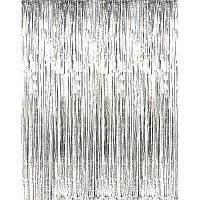 Шторка из фольги для фотозон 100*200 см.
