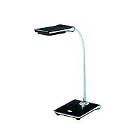 Настольная лампа LED 5W черная c USB WATC