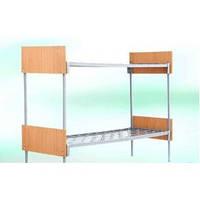 Кровать комбинированная двухъярусная 1900х700 мм перила ОДСП
