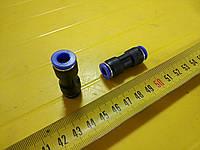 Соединитель аварийный 7х7 пласт. трубки ПВХ (RIDER
