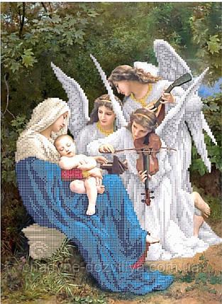 """Схема для вышивки на атласе """"Песня ангелов """", фото 2"""