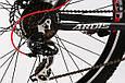 """Горный велосипед ARDIS BRUCE MTB 26"""" 19"""" Черный/Красный, фото 5"""
