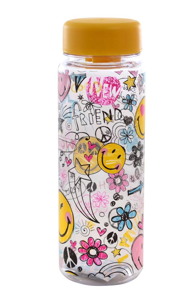 """Бутылка для воды """"Smiles"""" 500мл"""