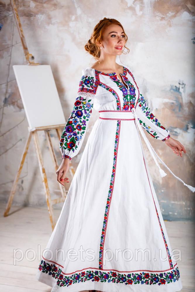 Сукня вишиванка - Дизайн-студія Оксани Полонець в Киеве 6edb9f10dd5b9