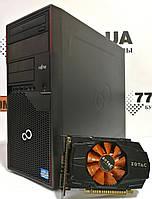 Игровой компьютер Fujitsu P700 Intel Core i5-2400 3.4GHz, RAM 8ГБ, HDD 250ГБ, GeForce GTX 650 1GB, фото 1