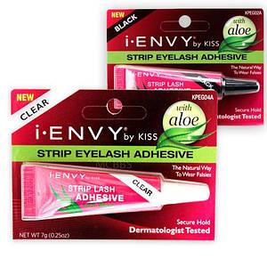 Клей для накладных ресниц с алоэ Kiss I-Envy Strip Eyelash Adhesive