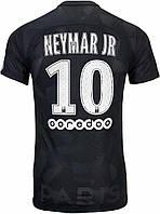 Футбольная форма ПСЖ Неймар (PSG Neymar Jr) 2017-2018 Гостевая черная