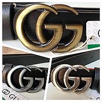 Кожаный женский ремень Gucci Гуччи