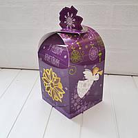 """Коробка """"З Різдвом Христовим"""" 11х11х14(19) см."""