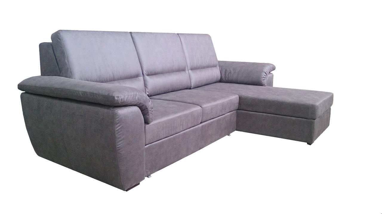 """Угловой диван с оттоманкой """"Glen"""" (Гленн)."""