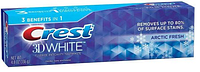Зубная паста отбеливающая, Crest 3D White, Arctic Fresh Icy Cool Mint, 136 gr