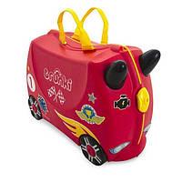 Чемодан детский на колесах Автомобиль Rocco Trunki TRU0321 GL