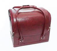 Бьюти-кейс для косметики (бордовый* матовый), фото 1
