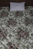 Одеяло хлопковое с  холлофайбером - Ковдра бавовняна з холлофайбером