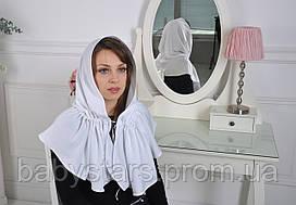 """Церковний хустку """"Жасмин"""", білий"""
