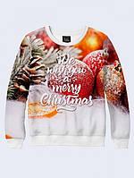 Cвитшот MERRY CHRISTMAS; XXS, XS, S, M, L, XL