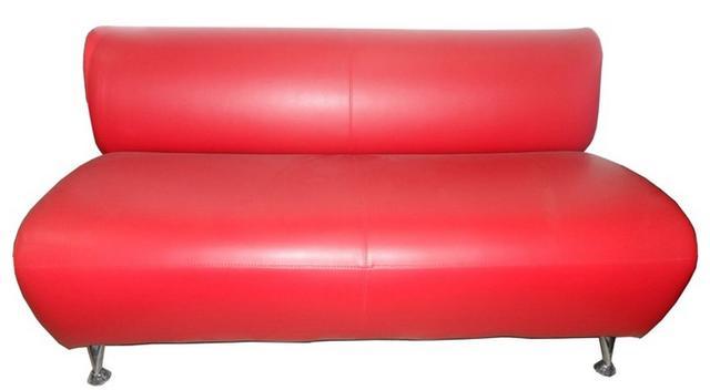 Диван офисный Карина К-02 двухместный (Красный)
