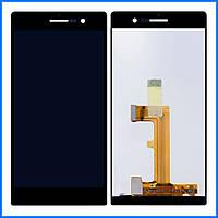 Дисплей (экран) для Huawei P7-L10 Ascend с тачскрином в сборе, цвет черный