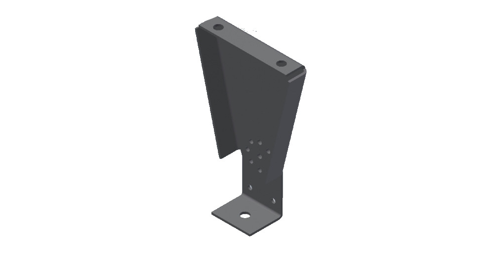 Кронштейн настенный/потолочный поворотный ТеплоV Б600/Б1000/Б1350