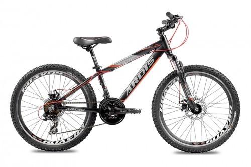 """Подростковый велосипед ARDIS SUNLIGHT 24"""", 13""""  Черный/Красный"""