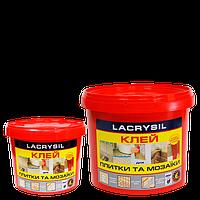Клей для плитки и мозаики Лакрисил, 15 кг