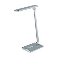 Настольная лампа LED 8W silver сенсор WATC
