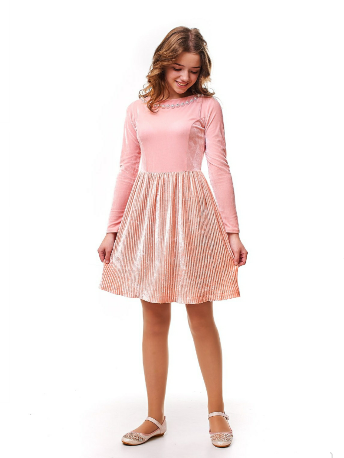 388031f44c4f Красивое бархатное подростковое платье на девочку. - EVA LOOK в Хмельницком