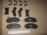 Колодка тормозной MITSUBISHI OUTLANDER передний (Производство TRW) GDB4142
