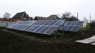сетевая солнечная электростанция под зеленый тариф село Андреевка Харьковской области