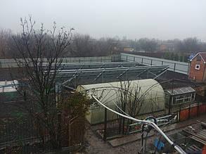 сетевая солнечная электростанция частного типа вид сверху