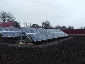 подключение солнечных панелей размещенных на установленных столах