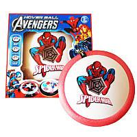 Аэро мяч Hover ball Человек паук Красный