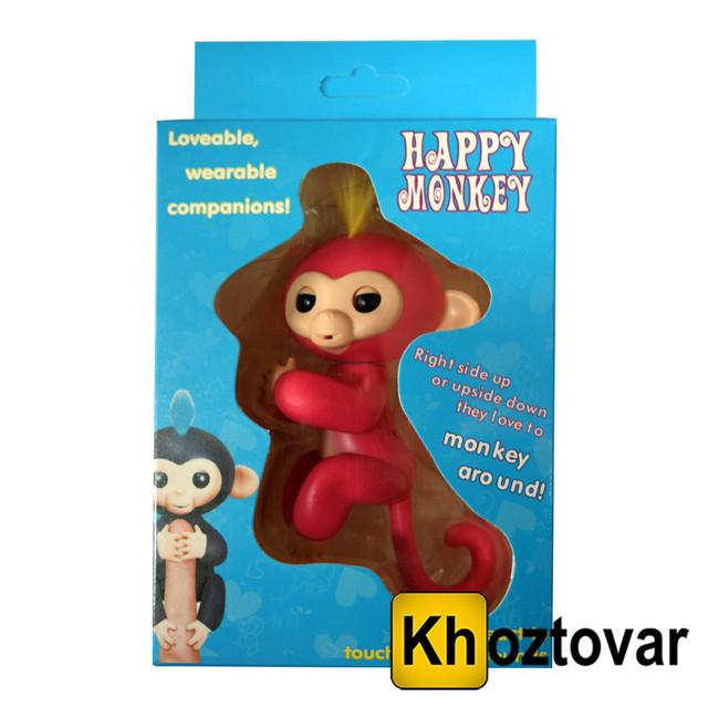 Интерактивная обезьянка Happy Monkey в коробке