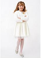 Нарядное  детское платье с болеро. Размеры 122 - 140