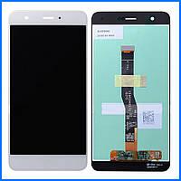 Дисплей (экран) для Huawei Nova (CAN-L11) + тачскрин, белый