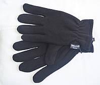 Флісові рукавички чорні MFH c утеплювач Thinsulate 15403A, фото 1